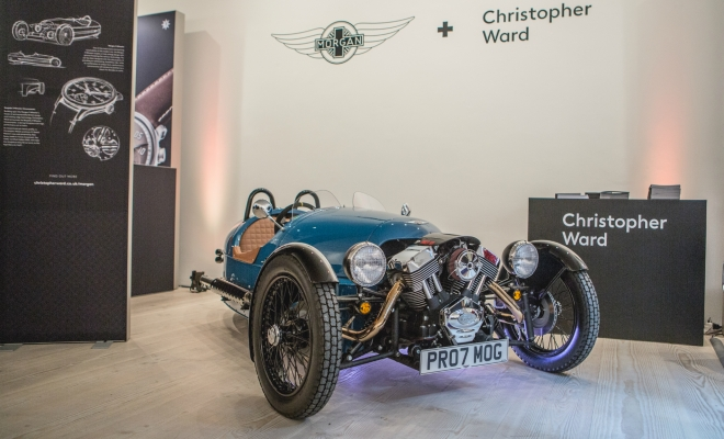 Morgan announce watch collaboration with Christopher Ward