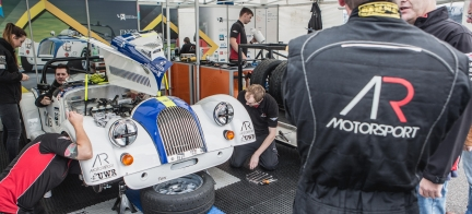 A second year of motorsport success for Morgan and University of Wolverhampton