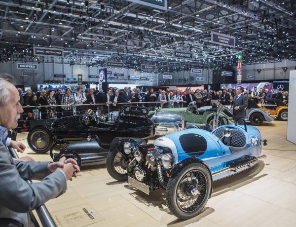 Morgan at the Geneva Motor Show 2017