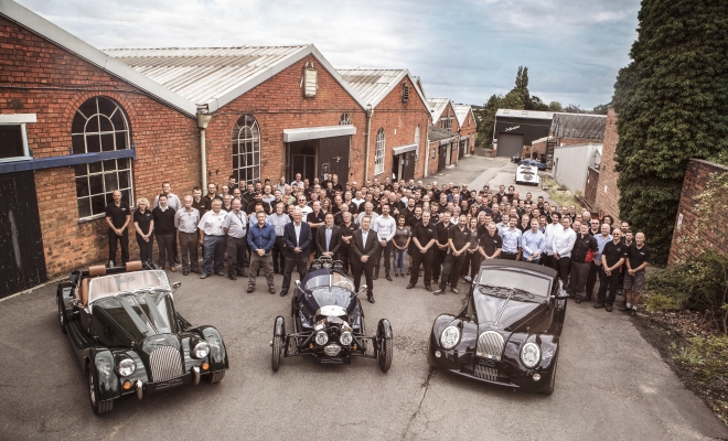 Record Growth and Profit for Morgan Motor Company