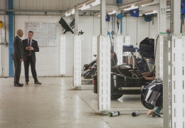 Morgan Motor Company awarded £6m worth of funding to develop new powertrain technologies