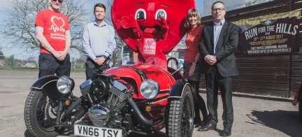 British Heart Foundation announced as Morgan Motor Company  Charity of the Year for 2017
