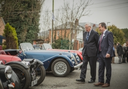HRH Duke of Gloucester visits Morgan