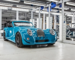 First Morgan Aero GT rolls off Morgan's Pickersleigh Road production line