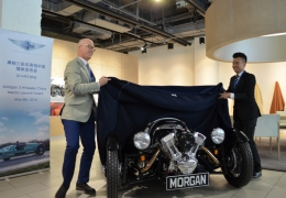 Morgan 3 Wheeler launches in China