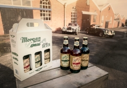 Morgan Motor Company introduces new collection of Morgan Ale