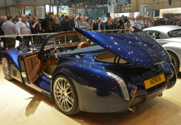 Morgan at the Geneva Motor Show 2015