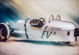 Morgan announce electric 3 Wheeler – The EV3