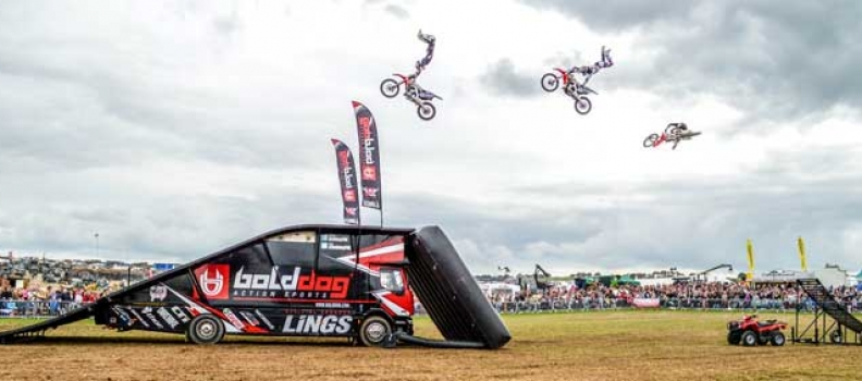 Bold Dog FMX display team to perform at Run For The Hills 2017