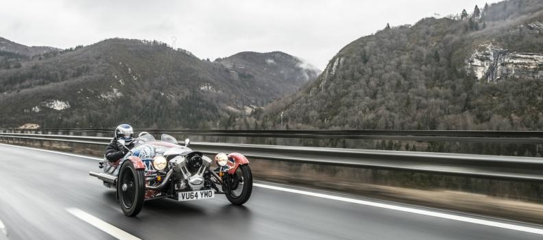 PopbangColour 3 Wheeler #MorganAdventure to Geneva