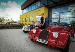 Morgan announce fundraising partnership with Worcestershire Oncology Centre