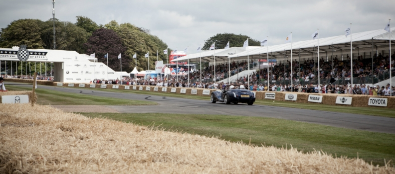 Morgan at the Goodwood Festival of Speed 2015