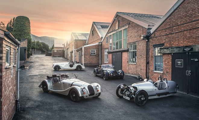 Morgan Motor Company Introduces Range of '110 Anniversary' Models Ahead Of Their Landmark 110th Anniversary Year
