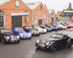 First Morgan Aero 8 vehicles delivered to UK Dealer Network