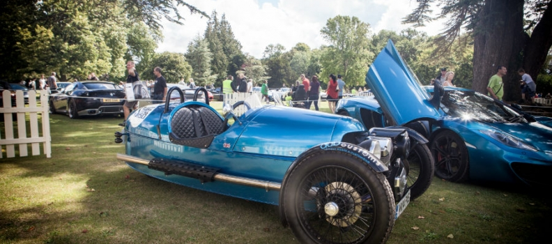 Morgan at Wilton Classic and Supercar 2014